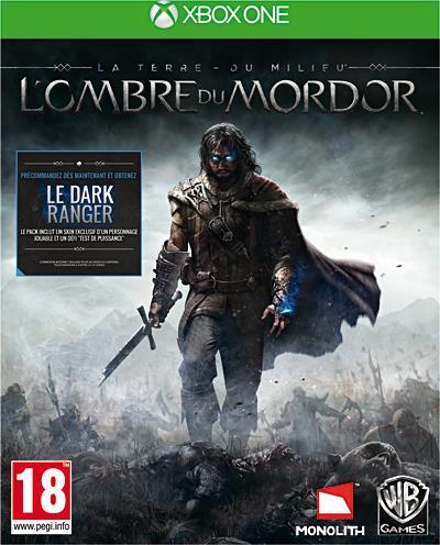 La Terre du Milieu L'ombre du Mordor Xbox One