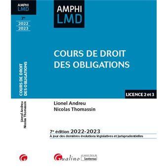 La réforme du régime général des obligations - Lionel Andreu