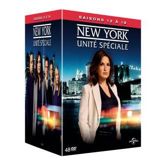 New York Unité SpécialeCoffret New York, unité spéciale Saisons 12 à 19 DVD