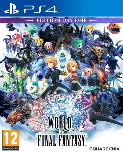World of Final Fantasy Edition Day One PS4