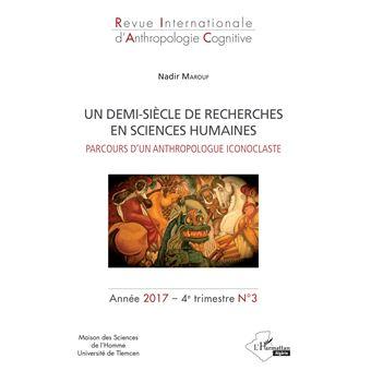 Un demi-siècle de recherches en sciences humaines