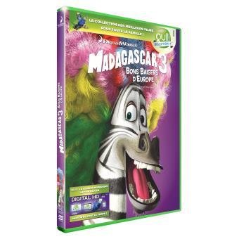 Madagascar 3 Bons baisers d'Europe DVD