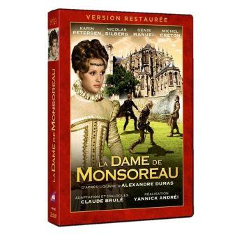 La Dame de Monsoreau DVD