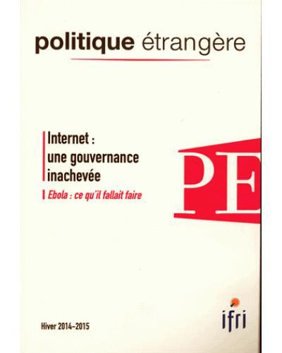 Internet - une gouvernance inachevée
