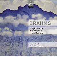 BRAHMS   SYMPHONIES 3&4