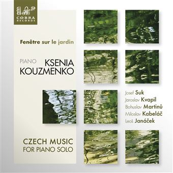 Fenetre sur le jardin/czech music for piano solo