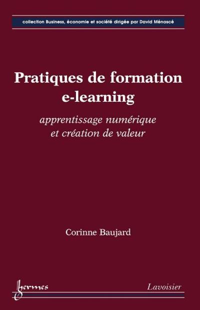Pratiques de formation elearning apprentissage numerique et