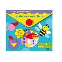Je décore mon livre Les Formes et les couleurs - 60 Gommettes repositionnables