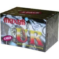 Pack de 5 K7 Audio Maxell UR90