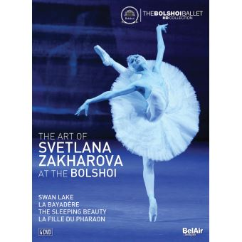 The Art Of Svetlana Zakharova At The Bolshoi DVD
