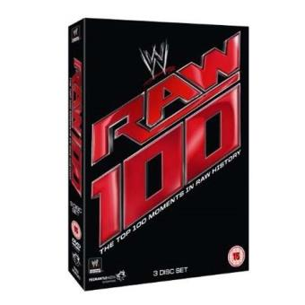 WWE The Top 100 Raw Moments in Raw History DVD
