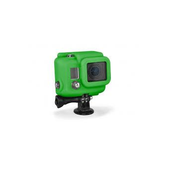 Etui silicone pour GoPro Hero 3+ XSories Cover vert