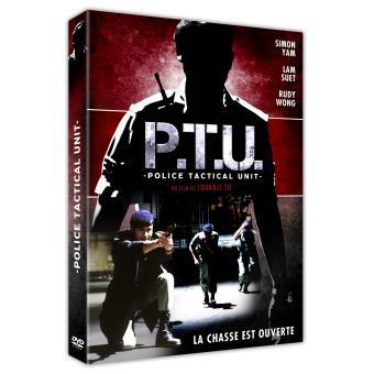 PTU Police Tactical Unit DVD