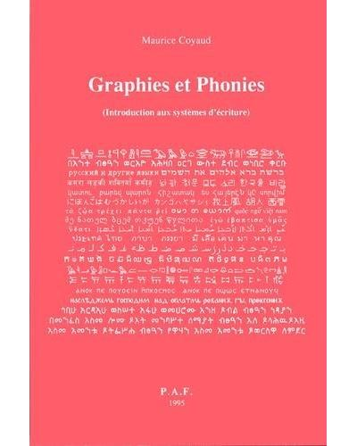 Graphies et phonies,1