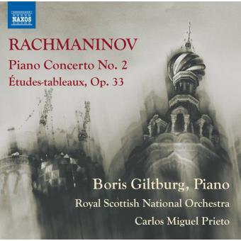 Sergueï Rachmaninov, Boris Giltburg, Carlos Prieto, Royal Scottish National Orchestra