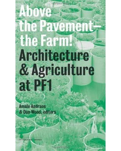 Above the pavement the farm /a