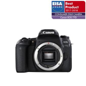 Reflex Canon EOS 77D Boîtier Nu Noir