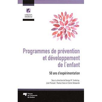 Programmes de prévention et développement de l'enfant