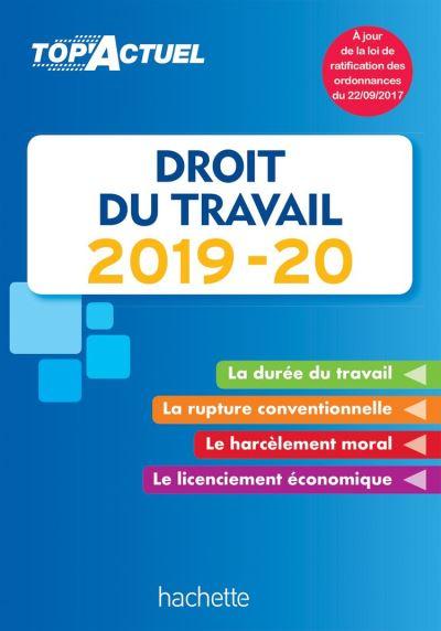 Top'Actuel Droit Du Travail 2019-2020 - 9782016277829 - 3,99 €