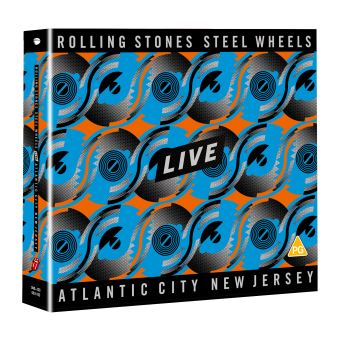 Steel Wheels Live - Blu-ray + 2CD