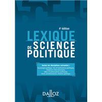 Lexique de science politique - 4e ed.