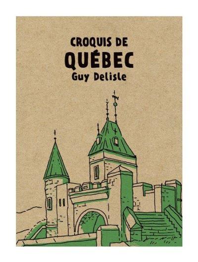 Croquis du Québec