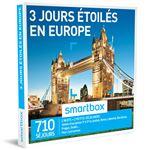 SMAR Coffret cadeau Smartbox 3 Jours étoilés en Europe