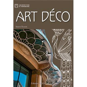 Art d co broch simon texier achat livre achat - Livre decoration interieur ...