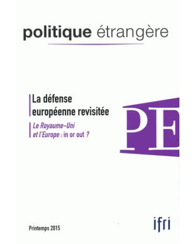 La défense européenne revisitée