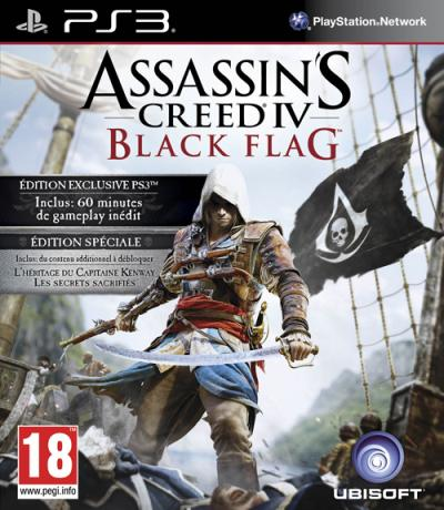 Assassin's Creed 4 Black Flag PS3 Edition Spéciale Fnac - PlayStation 3
