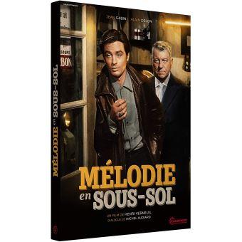 Mélodie en sous-sol DVD