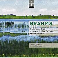 BRAHMS   SYMPHONIES 1&2,