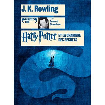 Harry Potter Tome 2 2 Cd Mp3 8hr Lus Par Bernard Giraudeau Harry Potter Et La Chambre Des Secrets
