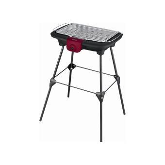 Tefal Easy Grill BG904812 Elektrische Barbecue met poten 2200W Zwart/Bordeaux
