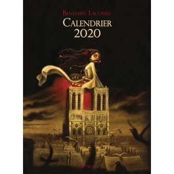 Benjamin Lacombe Calendrier 2022 Calendrier 2020   broché   Benjamin Lacombe, Livre tous les livres