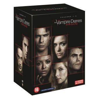the vampire diaries saisons 1 8 dvd dvd zone 2 achat prix fnac. Black Bedroom Furniture Sets. Home Design Ideas