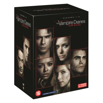 The Vampire DiariesVAMPIRE DIAIRIES COMPLETE COLLECTION S1-8-BIL