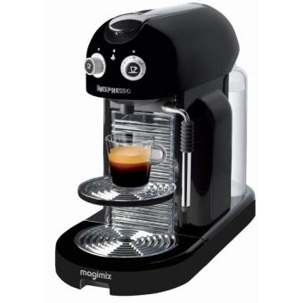 expresso capsules magimix nespresso m400 maestria noir. Black Bedroom Furniture Sets. Home Design Ideas