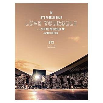 BTS World Tour Love Yourself DVD