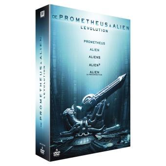 AlienPrometheus Alien La quadrilogie Coffret DVD