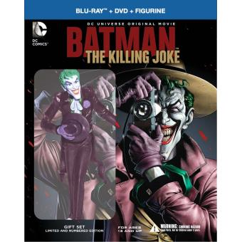 Batman animated seriesBatman The killing joke Blu-ray