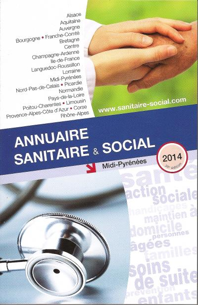 Annuaire sanitaire et social Midi Pyrénées