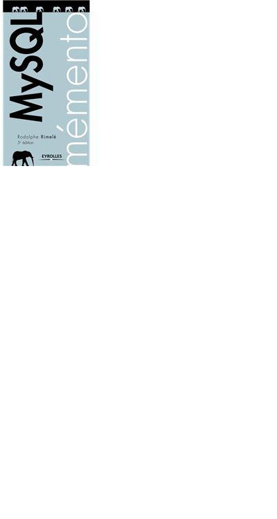 Mémento MySQL - 9782212194975 - 4,99 €
