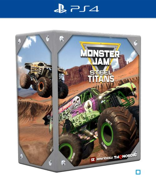 Monster Jam Steel Titans Edition Collector PS4