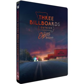 3 Billboards, Les Panneaux de la vengeance Steelbook Edition Limitée Blu-ray