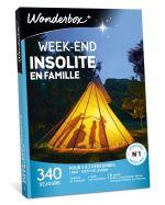 WOND Coffret cadeau Wonderbox Week-end insolite en famille