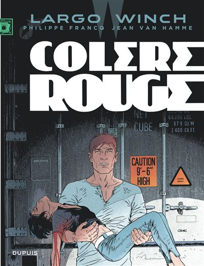 Colère rouge - tome 18 - Largo Winch
