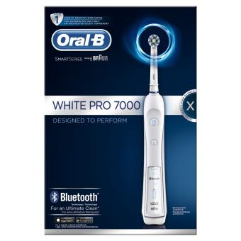 brosse dents lectrique oral b pro 7000 smart series blanche achat prix fnac. Black Bedroom Furniture Sets. Home Design Ideas