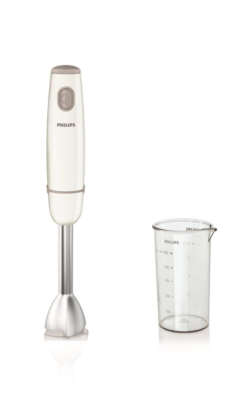 Mixeur plongeant Philips Daily Collection HR1604 550 W Blanc