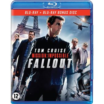 Mission: Impossible 6 - Fallout - Blu-ray -  BIL
